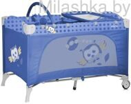 Детский манеж Bertoni (Lorelli) Travel Kid 2  Blue Baby Owl