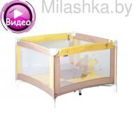 Детский манеж Lorelli Play Beige Yellow Za Za