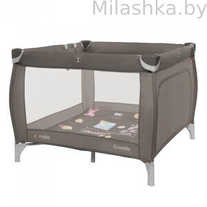 МАНЕЖ CARRELLO GRANDE CRL-9204/1 Chocolate Brown